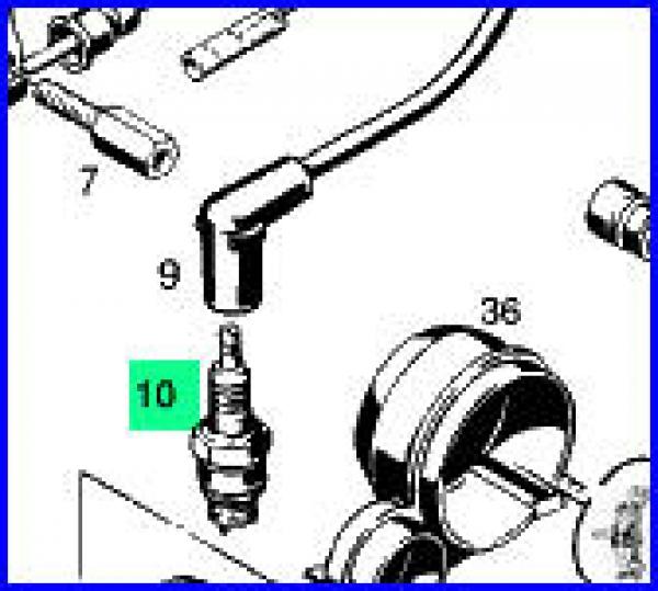Zündkerze Bosch WR11F